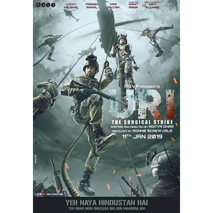 BLURAY Hindi Movie Uri The Surgical Strike