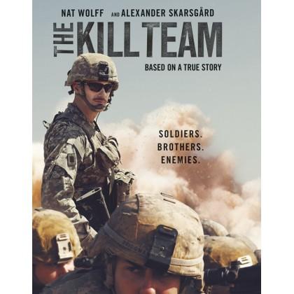 BLURAY English Movie The Kill Team Multi Subtitle / BLURAY Import Version / Physical Disc / 1080p / Full HD / 4K Ultra / UHD