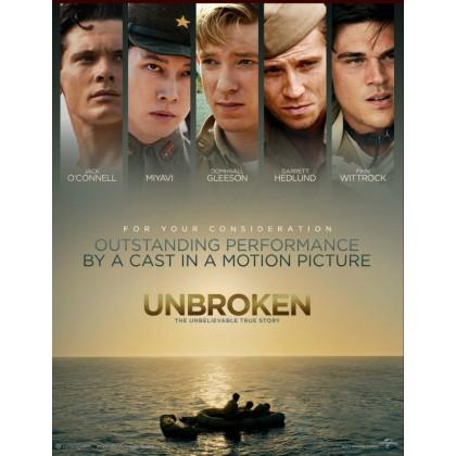 BLURAY English Movie Unbroken / BLURAY Import Version / Action / Thriller / Comedy / Adventure / Romance  / 4K