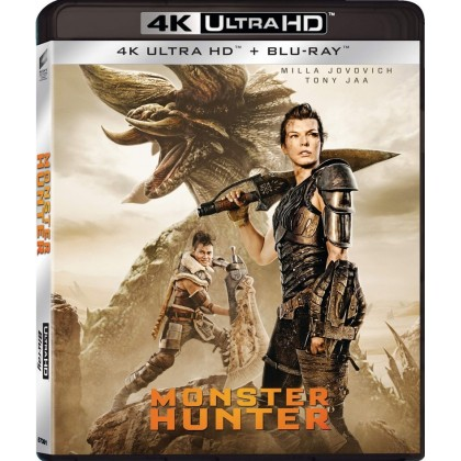 4K BLURAY Movie Monster Hunter
