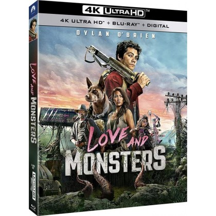 4k BLURAY Movie Love And Monsters