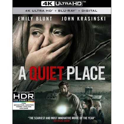 4k BLURAY English Movie A Quiet Place