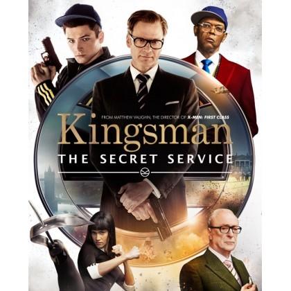 4k BLURAY English Movie Kingsman Collection