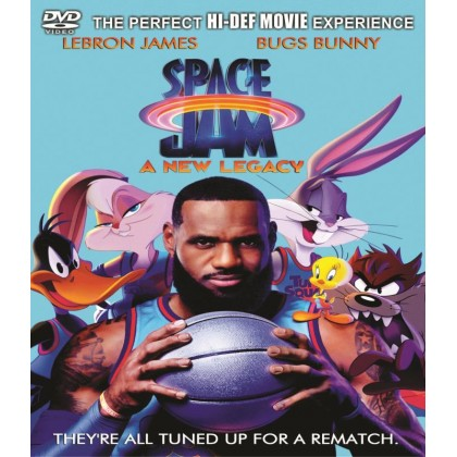 DVD English Movie Space Jam A New Legacy
