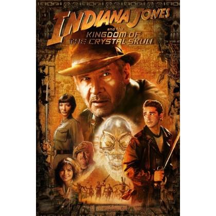 4K BLURAY English Movie Indiana Jones Collection