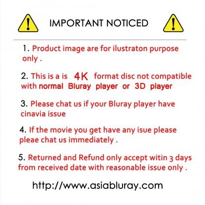 4K BLURAY English Movie Zack Snyder Justice League ( 2Disc ) Set