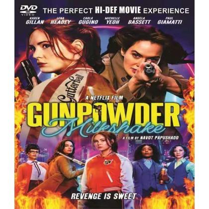 DVD English Movie Gunpowder Milkshake