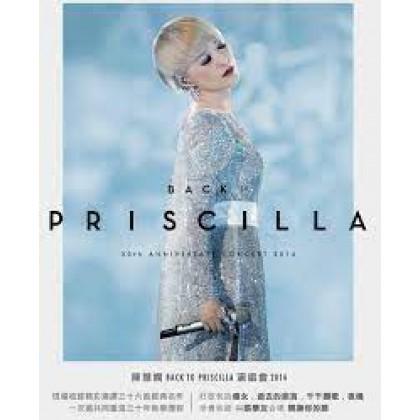 BLURAY Back To Priscilla 30th Anniversary Concert 2014