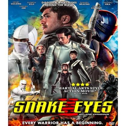 DVD English Movie Snake Eyes G.I Joe Origins