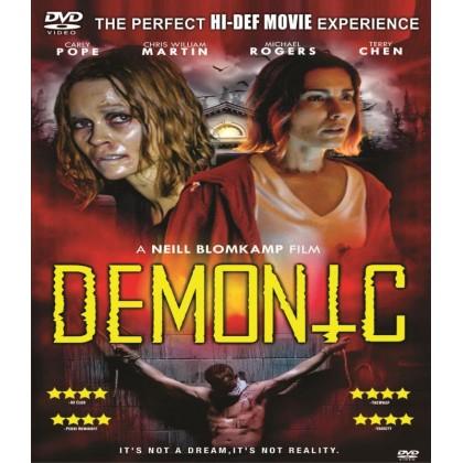 DVD English Movie Demonic