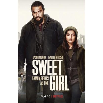 DVD English Movie Sweet Girl 2021