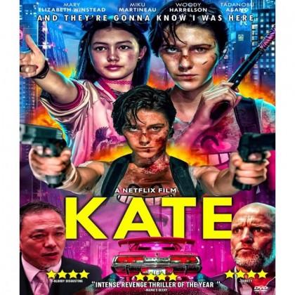 DVD English Movie Kate