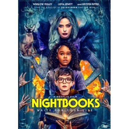 DVD English Movie Nightbooks