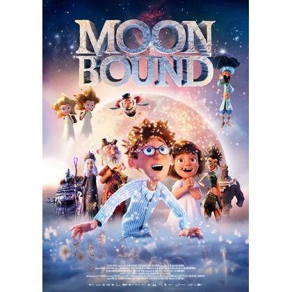 DVD Cartoon Movie Moon Bound