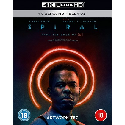 4K BLURAY English Movie Spiral From The Book Of Saw