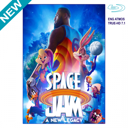 BLURAY English Movie Space Jam A New Legacy
