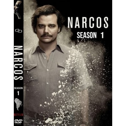 DVD English Movie TV Series Narcos Complete First Season ( 3 Disc ) 10 Episode