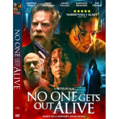 DVD English Movie No One Gets Out Alive