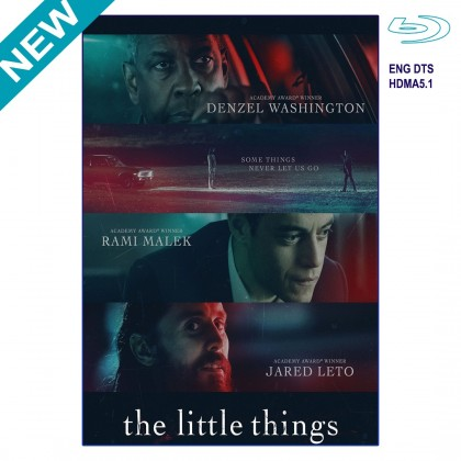 BLURAY Movie The Little Things - 2021