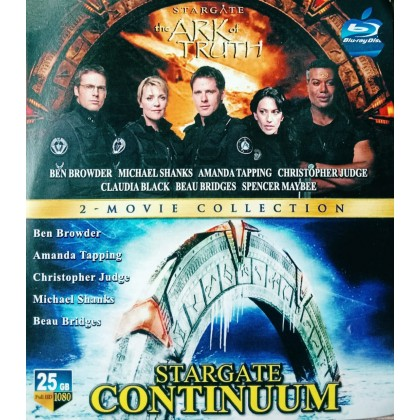 BLURAY English Movie Stargate The Ark Of Truth & Stargate Continuum Collection ( 2 in 1 )