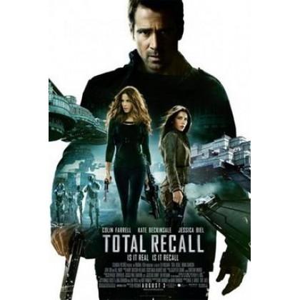 3D BLURAY English Movie Total Recall