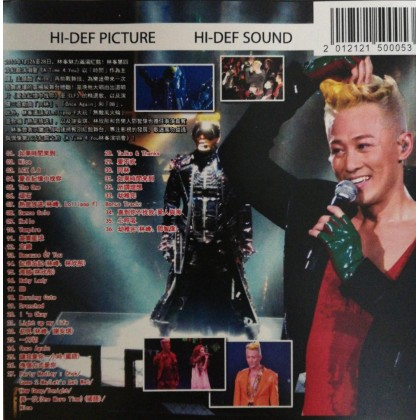 BLURAY Chinese Concert A Time 4 You 林峯演唱会 2013