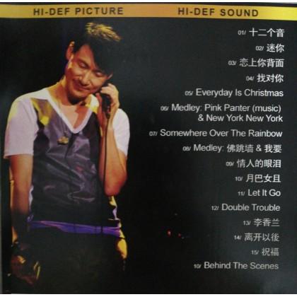 BLURAY Chinese Movie 张学友 迷你音乐会 Jacky Cheung Mini Concert Jockey Club Auditorium