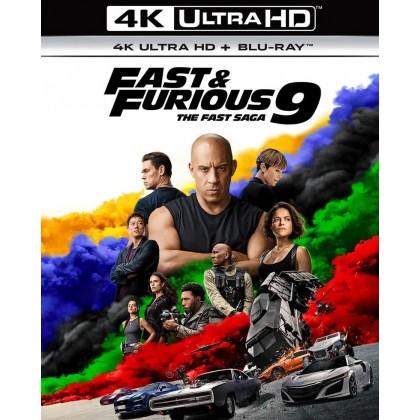 4K BLURAY English Movie Fast Furious 9 The Fast Saga